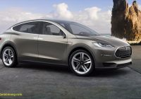 Tesla X Fresh Tesla S New Model X is A $132 000 Ludicrously Fast Beast