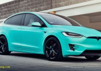 Tesla X Fresh Unique Tiffany Blue Tesla Model X Hits Ebay for $188 000