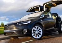 Tesla X New Tesla S X 100d is Vehicle the Year In Our 2017 S Best