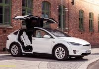 Tesla X Unique Testk¸rsel Tesla Model X Bilbasen Blog