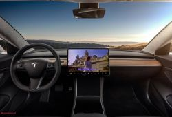 Luxury Tesla Y Interior