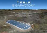 Tesla Zero Beautiful Nevada Selected as Official Site for Tesla Battery