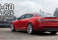 Tesla Zero to 60 Awesome Video Explains How Tesla Model S P100d Takes Just 2 28