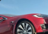 Teslamodel Beautiful Tesla Model S Plaid Prototypes E Home after Taking the
