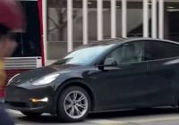 Teslamodel Elegant Tesla Model Y Spotted In Canada as Rumors Of Deliveries