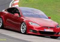 Teslamodel Lovely Tesla Model S Plaid Spied at the Nurburgring