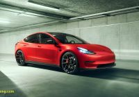 Teslamodel Luxury Ferrari Tuner Reveals First Modified Tesla Model 3