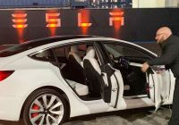Teslamodel Luxury Tesla Shares Tumble On Underwhelming Model Y Launch