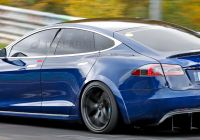 Teslamodel New Tesla Model S Plaid Hits Nürburgring In Refreshed Widebody