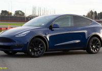Teslamodel New Tesla Reveals Its Production Model Y