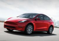 Teslamodel Unique Tesla Model Y Starts Shipping In March with Increased Range