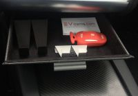 To Tesla Meaning Best Of Premium Tesla Model S & X Cubby Drawer