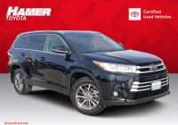 Toyota Certified Pre Owned Awesome Certified Pre Owned 2017 toyota Highlander Xle Sport Utility