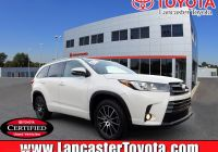 Toyota Certified Pre Owned Elegant Certified Pre Owned 2018 toyota Highlander Se Awd Sport Utility