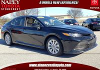 Toyota Certified Pre Owned Lovely Certified Pre Owned 2018 toyota Camry Le Fwd 4dr Car