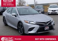 Toyota Certified Pre Owned Lovely Ken Garff Certified 2019 toyota Camry Xse Fwd 4dr Car