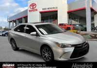 Toyota Certified Pre Owned Luxury Certified Pre Owned 2017 toyota Camry Xse Fwd Sedan