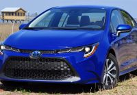 Toyota Corolla 2015 New Driven 2020 toyota Corolla Hybrid is A Prius without the