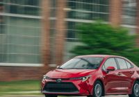 Toyota Cpo Best Of the 2020 Corolla Hybrid Sedan is Slow yet Highly Efficient