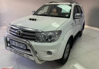 Toyota Pre Owned Beautiful Buy 2011 toyota fortuner 3 0d 4d 4×4 for Sale In