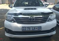 Toyota Pre Owned Unique toyota fortuner 3 0d 4d 4×4 for Sale In Gauteng