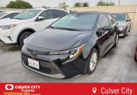 Toyota Showroom Near Me Unique Pre Owned 2020 toyota Corolla Xle 4dr Car In Culver City