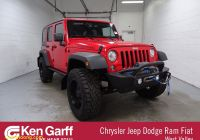 Unlimited Carfax Reports Beautiful Pre Owned Jeep Wrangler Jk Unlimited Rubicon with Navigation & 4wd
