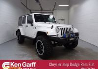 Unlimited Carfax Reports Luxury Pre Owned Jeep Wrangler Jk Unlimited Sahara with Navigation & 4wd