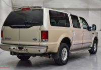 Us Auto Sales Fresh 2005 ford Excursion Limited