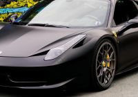 Used Alfa Romeo Awesome Ferrari 458 Italia Matte Black [5367 X 3016