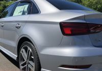 Used Audi A4 Fresh Rear Angled View Of the 2018 Audi A3 In Florett Silver