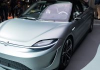 Used Car A Good Idea Awesome sony S Electric Car is the Best Surprise Of Ces the Verge