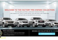 Used Car Dealerships Best Of Gm Factory Pre Owned Collection Website Takes Used Car