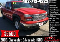 Used Cars for Sale 1500 Fresh 2006 Chevrolet Silverado 1500 Lt Call Us today