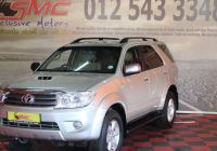 Used Cars for Sale 2010 Inspirational toyota fortuner fortuner 3 0d 4d Automatic for Sale In