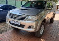 Used Cars for Sale 4×4 New toyota Hilux Hilux 3 0d 4d 4×4 Raider for Sale In Gauteng