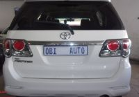 Used Cars for Sale 6 Seater Inspirational toyota fortuner 3 0d 4d 4×4 for Sale In Gauteng