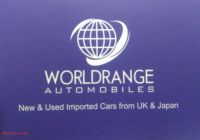 Used Cars for Sale $600 New Worldrange Automobile Used Car Dealer In Pakistan