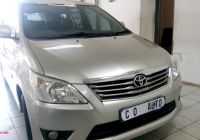 Used Cars for Sale 8 Seater Fresh toyota Innova 2 7 8 Seater for Sale In Gauteng