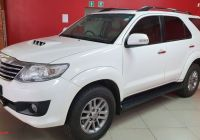 Used Cars for Sale and Prices New toyota fortuner 3 0d 4d 4×4 Auto for Sale In Gauteng In 2020