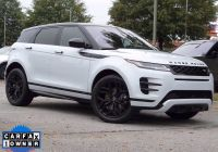 Used Cars for Sale Charlotte Nc Luxury Pre Owned 2020 Land Rover Range Rover Evoque R Dynamic Se