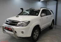 Used Cars for Sale Durban Awesome toyota fortuner D 4d 4×4