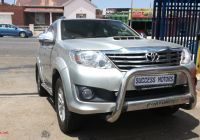 Used Cars for Sale Gauteng Luxury toyota fortuner fortuner 3 0d 4d for Sale In Gauteng