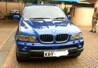 Used Cars for Sale In Kenya New Bmw X5 2007 3 0d Sport Blue