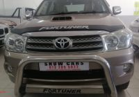 Used Cars for Sale Kitchener Luxury toyota fortuner fortuner 3 0d 4d for Sale In Gauteng