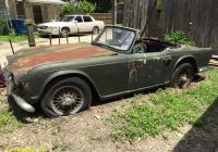 Used Cars for Sale Near Me Ebay Lovely 1961 Triumph Tr4 Car for Parts Perfect Restoration source
