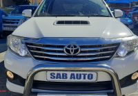 Used Cars for Sale On Facebook Best Of toyota fortuner 3 0d 4d Auto 2012