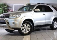 Used Cars for Sale toyota Beautiful toyota fortuner fortuner 3 0d 4d 4×4 Auto for Sale In