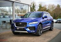 Used Cars for Sale Uk Beautiful 2015 Blue Jaguar F Pace