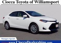 Used Cars for Sale X Corolla Awesome Super White 2017 toyota Corolla for Sale at Ciocca